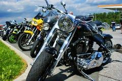 αμερικανικό motobike Στοκ Εικόνα