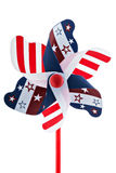 αμερικανικό pinwheel στοκ εικόνα με δικαίωμα ελεύθερης χρήσης