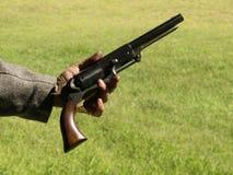 αμερικανικό shooter έξι στοκ φωτογραφία