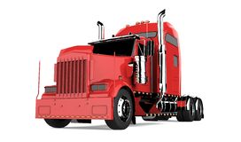 αμερικανικό truck Στοκ φωτογραφία με δικαίωμα ελεύθερης χρήσης