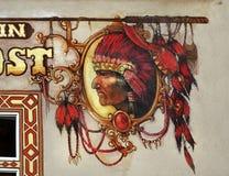 Αμερικανός ιθαγενής ινδικό κύριο Headdress, Ναβάχο εθνικός Στοκ εικόνα με δικαίωμα ελεύθερης χρήσης