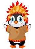 Αμερικανός ιθαγενής Penguin ελεύθερη απεικόνιση δικαιώματος