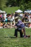Αμερικανός ιθαγενής Pow wow Στοκ Εικόνες