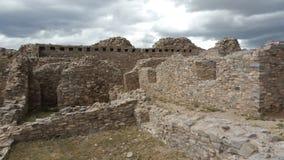 Αμερικανός ιθαγενής Pueblo σύνθετο Στοκ Εικόνες