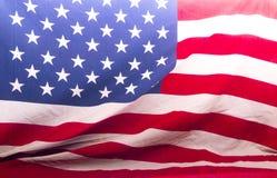 Αμερικανός σημαιοστόλισε κοντά επάνω να διαμορφώσει ένα υπόβαθρο στοκ φωτογραφίες με δικαίωμα ελεύθερης χρήσης
