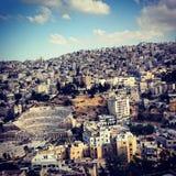 Αμμάν Ιορδανία Στοκ Εικόνες