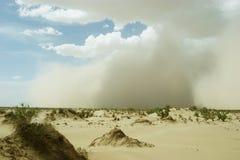 αμμοθύελλες Στοκ Εικόνα