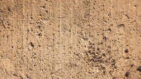 Αμμοχάλικα σε μια τραχιά επιφάνεια στοκ φωτογραφίες