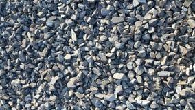 Αμμοχάλικο ή μπλε πέτρες που συντρίβεται στοκ φωτογραφίες
