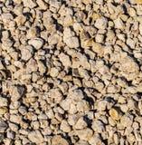 Αμμοχάλικο κατασκευής ως αφηρημένο υπόβαθρο στοκ φωτογραφίες με δικαίωμα ελεύθερης χρήσης