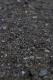 Αμμοχάλικο με τα μικροσκοπικά χαλίκια στοκ φωτογραφίες με δικαίωμα ελεύθερης χρήσης
