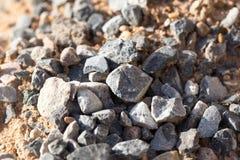 Αμμοχάλικο με την άμμο ως υπόβαθρο στοκ φωτογραφία με δικαίωμα ελεύθερης χρήσης