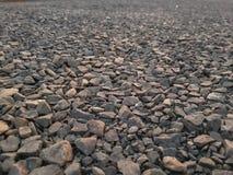 Αμμοχάλικο πετρών σύστασης στοκ φωτογραφίες