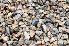 Αμμοχάλικο χαλίκια Μικρές πέτρες στοκ εικόνες με δικαίωμα ελεύθερης χρήσης