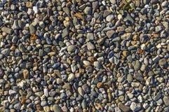 Αμμοχάλικο, χαλίκια ως στερέωση τρόπων, φυσικό δάπεδο, αποξήρανση, Bu στοκ φωτογραφία με δικαίωμα ελεύθερης χρήσης