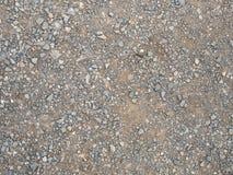 Αμμοχάλικο της επίγειας σύστασης στοκ φωτογραφίες