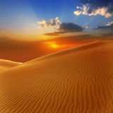 Αμμόλοφοι άμμου ερήμων σε Maspalomas θλγραν θλθαναρηα Στοκ Εικόνα