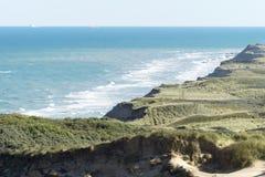 Αμμόλοφοι άμμου Rubjerg Knude Στοκ Εικόνα