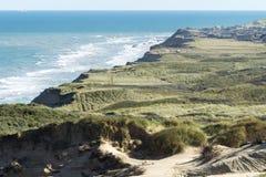 Αμμόλοφοι άμμου Rubjerg Knude Στοκ εικόνες με δικαίωμα ελεύθερης χρήσης