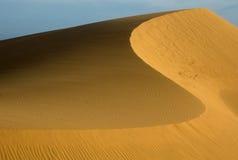 Αμμόλοφος άμμου Στοκ Εικόνες