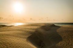 Αμμόλοφος άμμου Στοκ Φωτογραφία