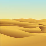 Αμμόλοφος άμμου Στοκ Φωτογραφίες