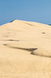 Αμμόλοφος Pyla, ο μεγαλύτερος αμμόλοφος άμμου στην Ευρώπη Στοκ φωτογραφία με δικαίωμα ελεύθερης χρήσης