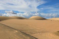 Αμμόλοφοι άμμου κοντά στο ΝΕ Mui, Βιετνάμ Στοκ Φωτογραφία
