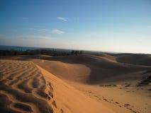 Αμμόλοφοι άμμου ΝΕ του Βιετνάμ Mui Στοκ Φωτογραφία