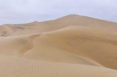 Αμμόλοφοι άμμου στην έρημο Huacachina, Περού Στοκ φωτογραφίες με δικαίωμα ελεύθερης χρήσης