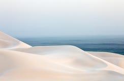 Αμμόλοφοι ερήμων άμμου Στοκ Εικόνες