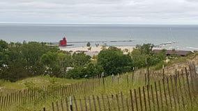 Αμμόλοφοι και μεγάλο κόκκινο Στοκ εικόνες με δικαίωμα ελεύθερης χρήσης