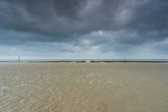 Αμμόλοφοι παραλιών της Γιούτα στον πόλεμο δύο της Νορμανδίας Wold ιστορική περιοχή στοκ εικόνες με δικαίωμα ελεύθερης χρήσης