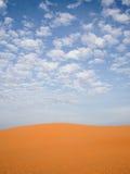 Αμμόλοφος άμμου ερήμων Στοκ Φωτογραφίες