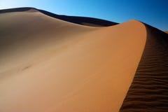Αμμόλοφος άμμου Erg Chigaga Στοκ Εικόνες