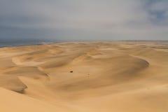 Αμμόλοφος στον Ατλαντικό Ωκεανό Στοκ φωτογραφία με δικαίωμα ελεύθερης χρήσης