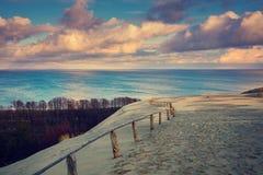 Αμμόλοφος Parnidis στο autumnn Στοκ Φωτογραφίες