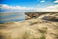Αμμώδεις γκρίζοι αμμόλοφοι Στοκ φωτογραφία με δικαίωμα ελεύθερης χρήσης