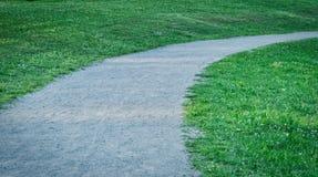 Αμμώδες ίχνος στο πάρκο Στοκ εικόνα με δικαίωμα ελεύθερης χρήσης