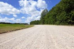 Αμμώδης εθνική οδός στοκ φωτογραφία με δικαίωμα ελεύθερης χρήσης