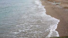 Αμμώδης παραλία στην ανατολή φιλμ μικρού μήκους