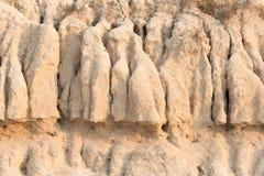 Αμμώδες χώμα Στοκ Εικόνες