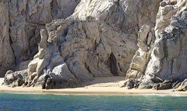 Αμμώδης άγρια παραλία Στοκ Εικόνα