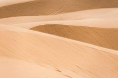 Αμμώδης έρημος Στοκ φωτογραφία με δικαίωμα ελεύθερης χρήσης