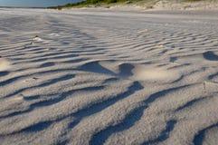 Αμμώδης ακτή της Βαλτικής Στοκ Φωτογραφίες