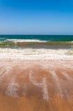 Αμμώδης παραλία στην Αυστραλία Στοκ Εικόνα