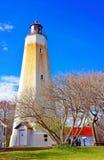 Αμμώδης πύργος φάρων γάντζων Στοκ Εικόνα