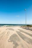 Αμμώδης δρόμος Στοκ Εικόνες