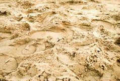Αμμώδης σύσταση Στοκ εικόνες με δικαίωμα ελεύθερης χρήσης