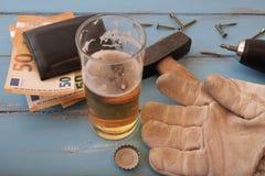 Αμοιβές υπαλλήλων ` s Handymans Στοκ εικόνες με δικαίωμα ελεύθερης χρήσης